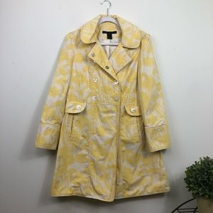 Marc Jacobs Floral Trench Coat